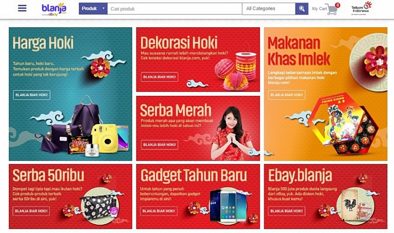 Promo Hoki dari Blanja.com