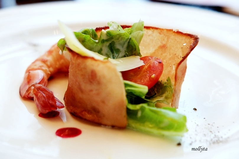 Bacon Salad di The Kitchen Aryaduta Medan