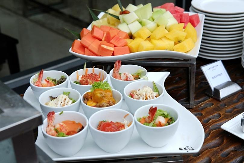 Salad & appetizers Barefoot BBQ Buffet Menu Aryaduta Medan