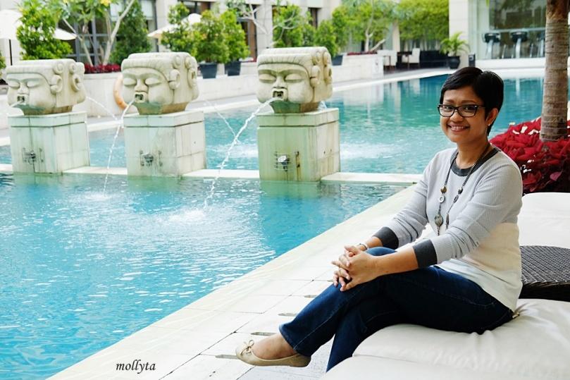 Pool area di Aryaduta Medan yang Instagrammable