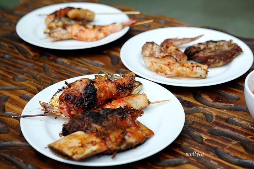 hidangan Barefoot BBQ Buffet Menu Aryaduta Medan
