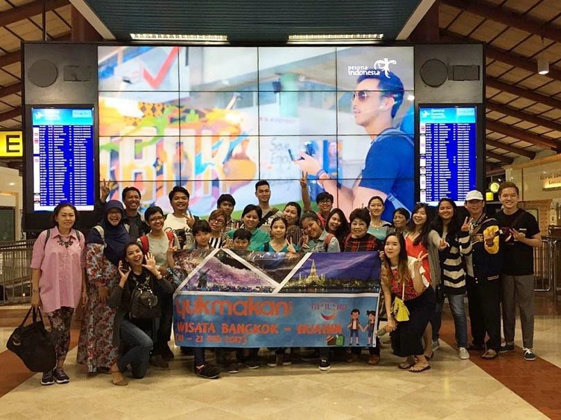 Rombongan Culinary Trip Bangkok-Hua Hin bersama YukMakanCom dan Wisata Thailand