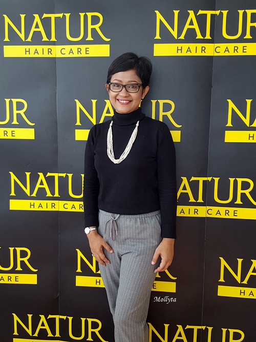Di acara NaturHair Beauty Dating Medan