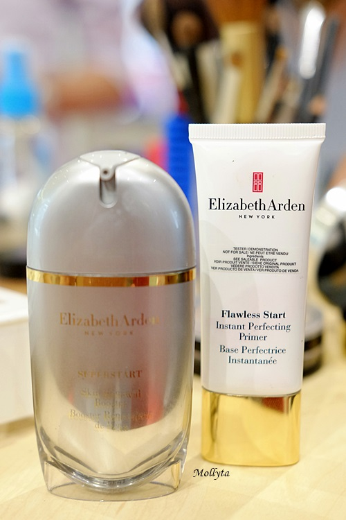 Elizabeth Arden SUPERSTART Booster dan Instant Perfecting Primer di Parkson Medan