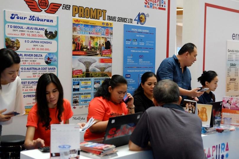 Acara Roadshow Singapura Seru Bareng di Medan