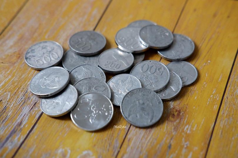 Uang logam pecahan Rupiah