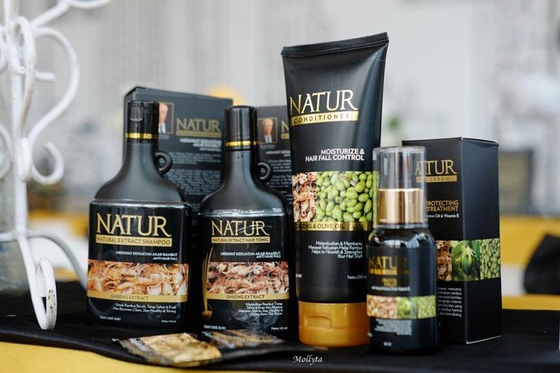 Rangkaian produk Natur Hair Care