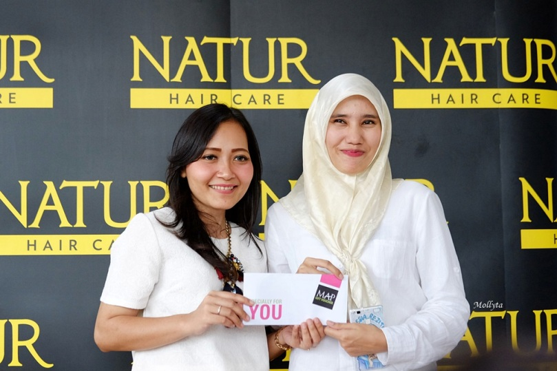 Pemenang IG photo contest Natur Hair Beauty Dating Medan