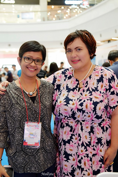 Foto bareng Miss Jinjing di Medan