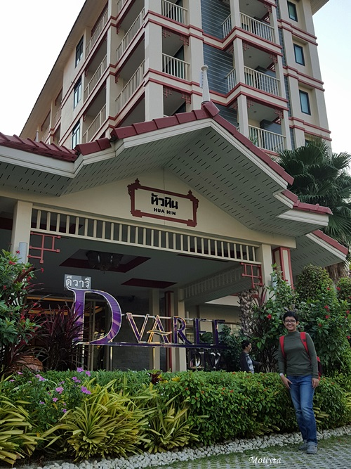 Nginap di D`Varee Diva Kaing Haad Beach Hua Hin Thailand