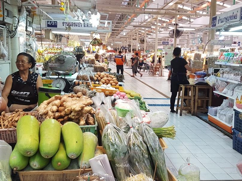 Kebersihan di Or Tor Kor Market