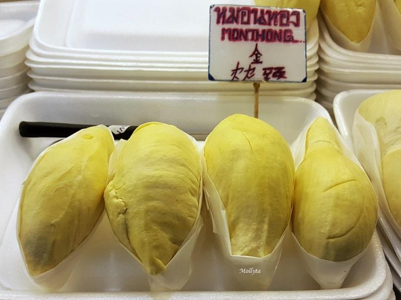 Kelezatan durian Monthong
