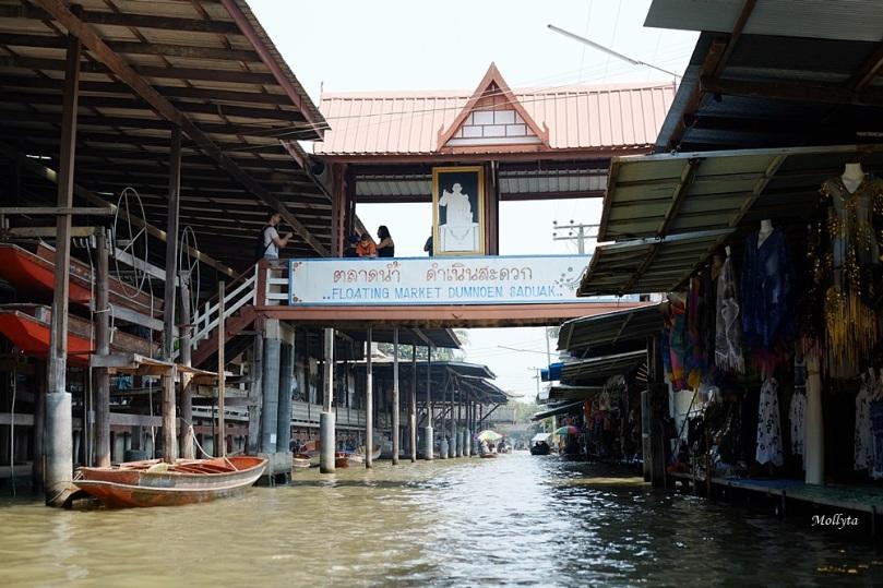 Damnoen Saduak Floating Market di Thailand