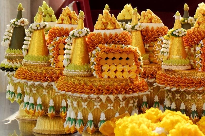 di Wat Traimit Wittayaram Bangkok