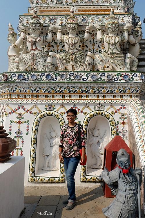 berkunjung ke Wat Arun di Bangkok