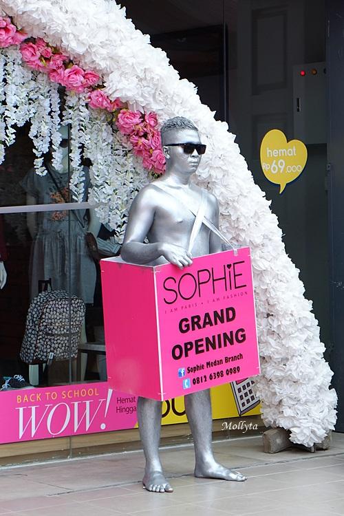 Grand opening Sophie Paris branch Medan