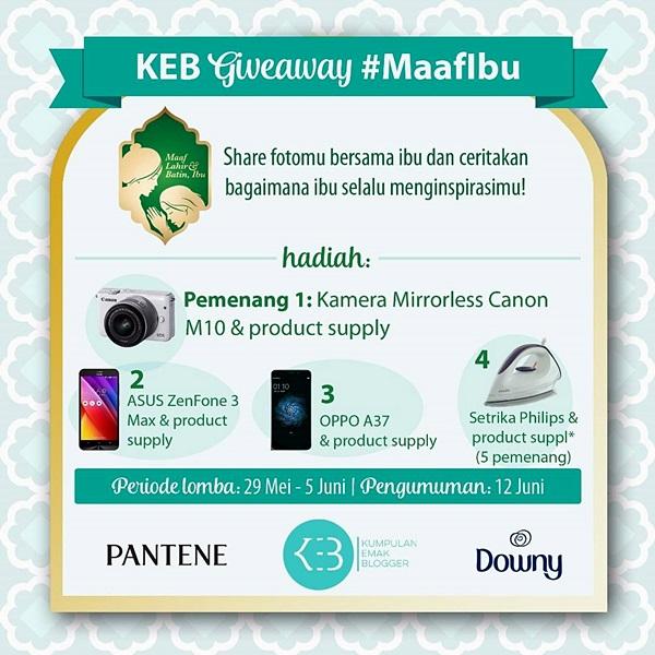 KEB Giveaway