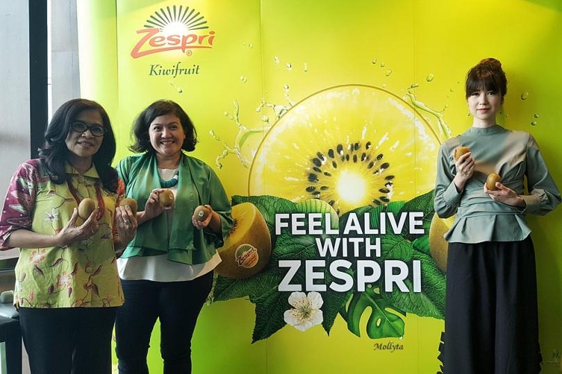 Raih hari dengan Zespri kiwifruits