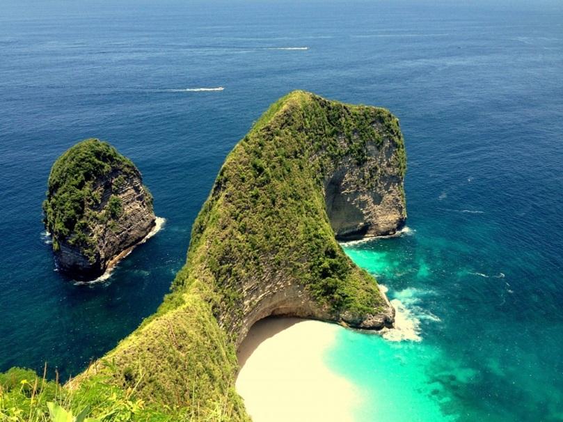 Cantiknya Kelingking Beach di Bali