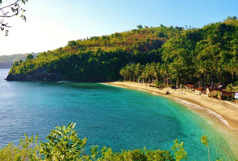 Crystal Beach Nusa Penida Bali
