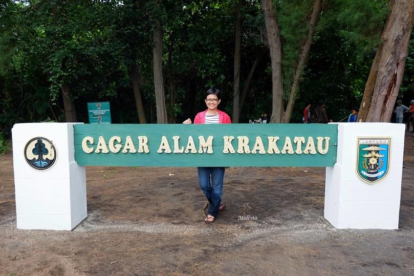 Kawasan cagar alam Krakatau