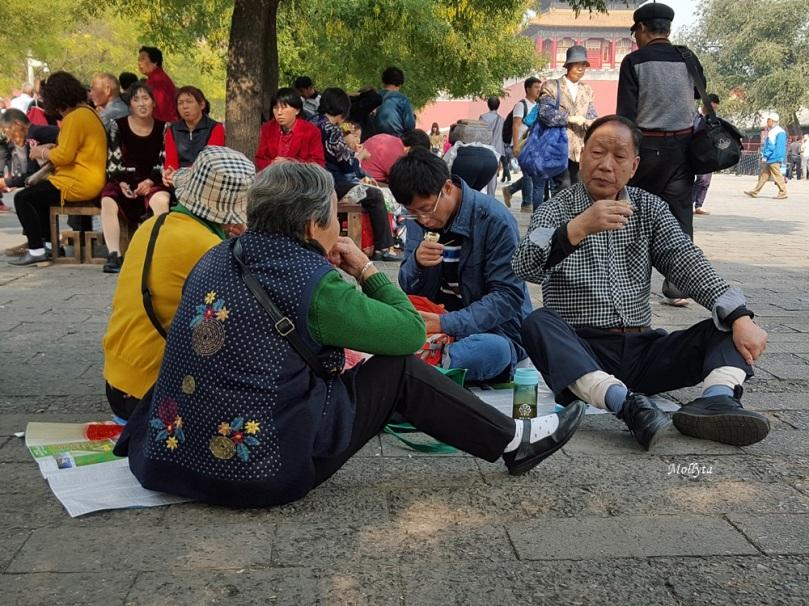 wisatawan lokal di Beijing