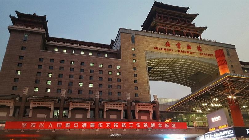 Stasiun kereta api di Beijing