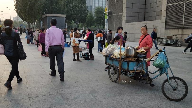 Masyarakat di kota Beijing