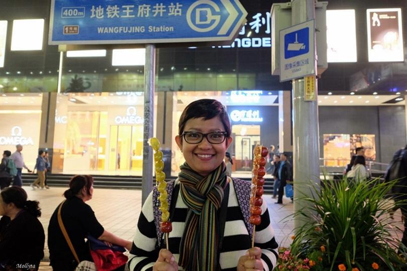 Wangfujing di Beijing