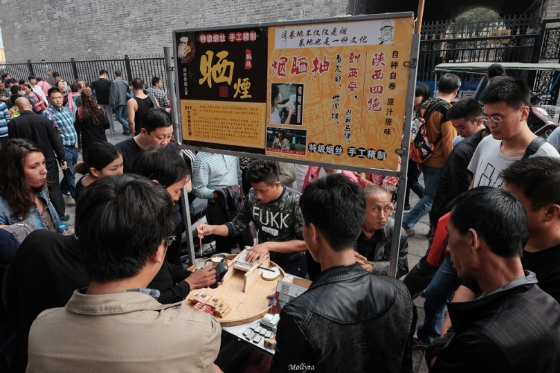 Moslem Street di Xi`an