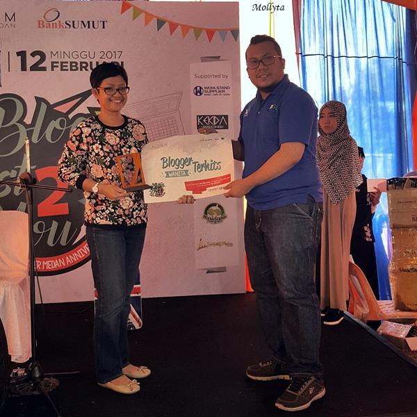 Hadiah Blogger Terhits 2017