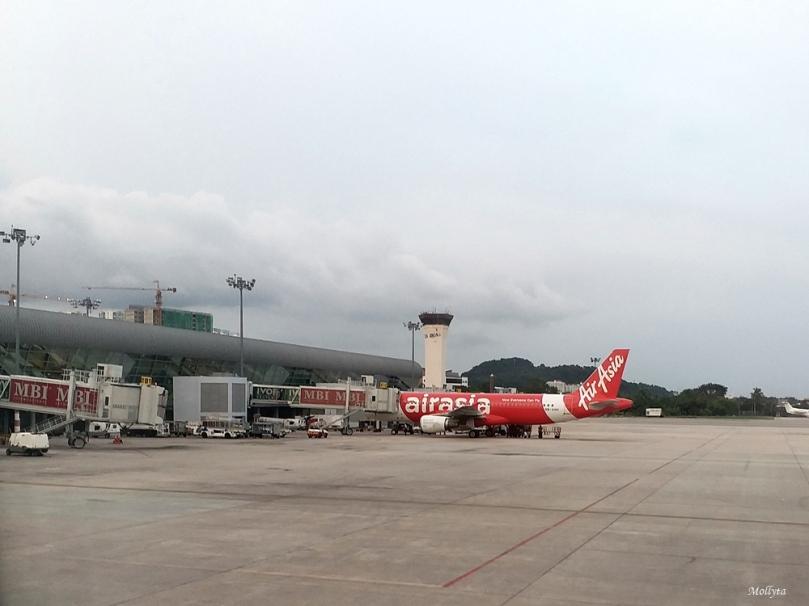 Maskapai Air Asia di Penang Malaysia