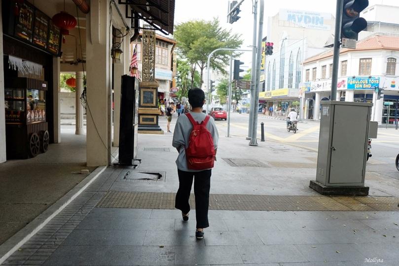 Jalan kaki di Penang
