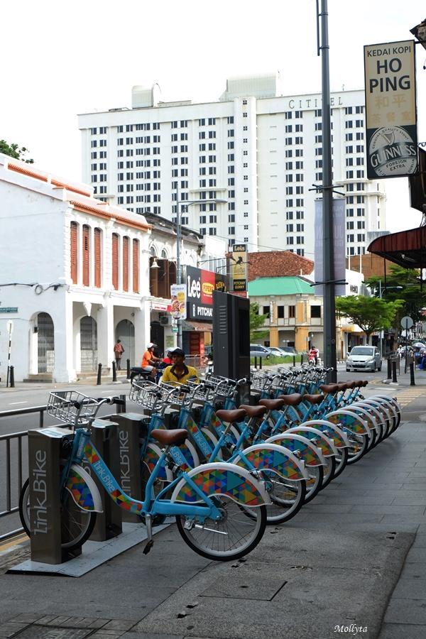 Sewa sepeda di Penang