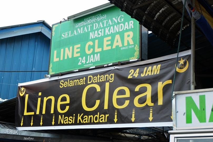 Line Clear Nasi Kandar