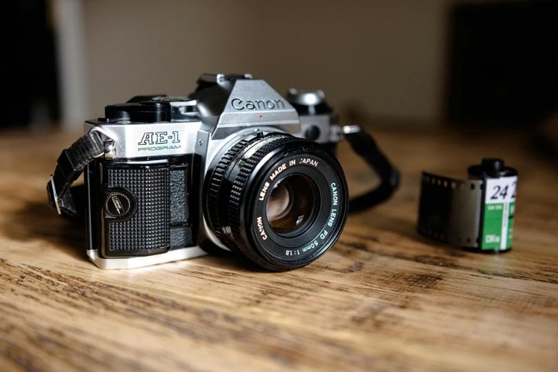 Kamera analog untuk traveling