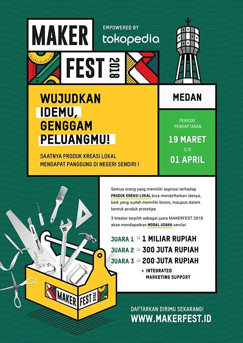 Maker Fest 2018 di Medan