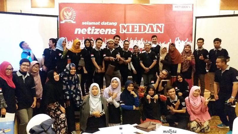Peserta acara Ngobrol Bareng MPR RI bersama blogger Medan dan netizens