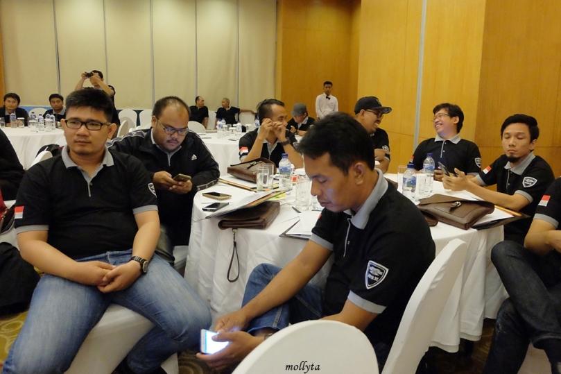 Suasana acara Ngobrol Bareng MPR RI dengan Netizens Medan