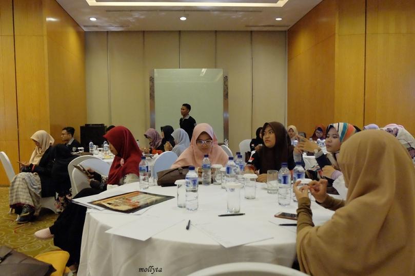 Para peserta acara Ngobrol Bareng MPR RI di Medan
