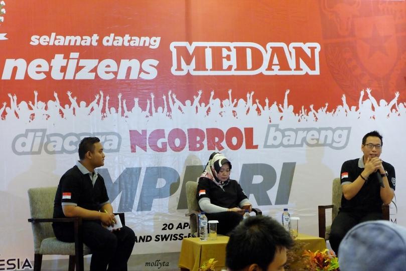Ngobrol bareng MPR RI bersama Ibu Siti Fauziah dan Bapak Andrianto Majid