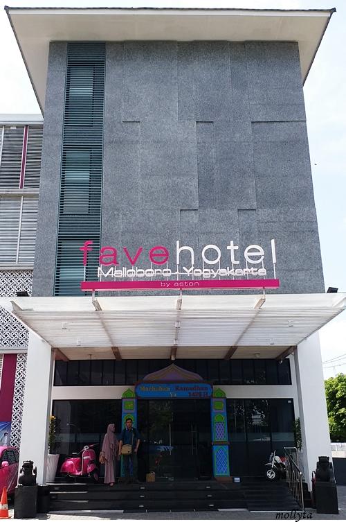 Bangunan favehotel Malioboro Yogyakarta
