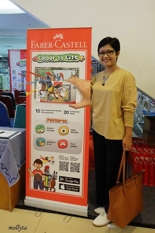 Peluncuran Faber-Castell Colour to Life di Gramedia Medan