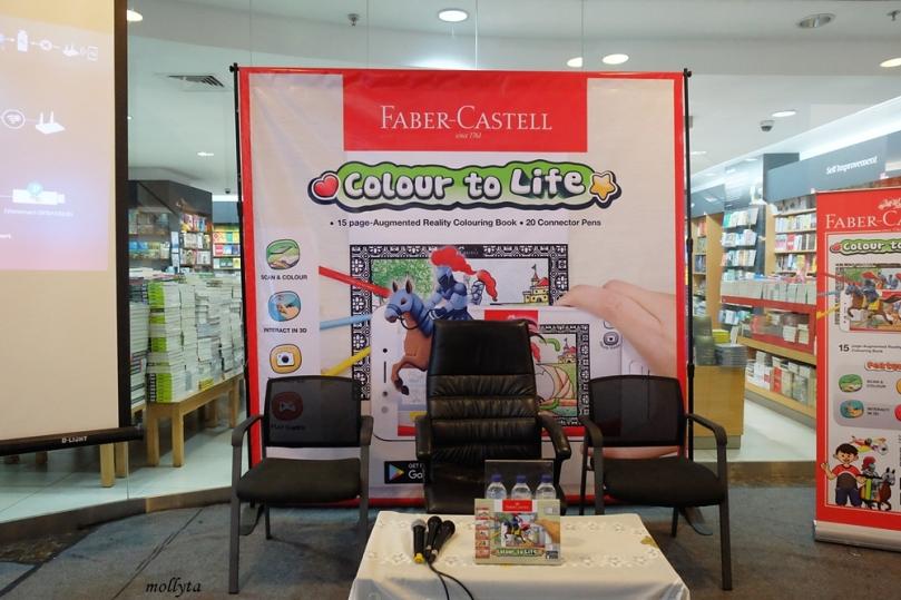 Peluncuran Faber-Castell Colour to Life di Medan
