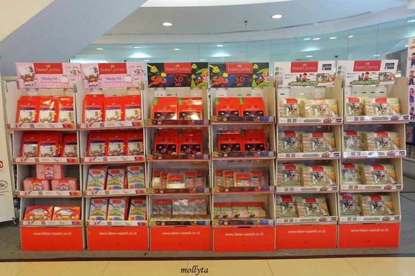 Faber-Castell Colour to Life di Gramedia Medan