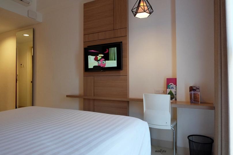 Suasana kamar favehotel Malioboro Yogyakarta