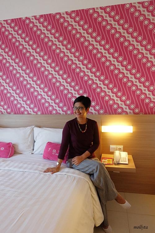 Interior kamar standard favehotel Malioboro Yogyakarta