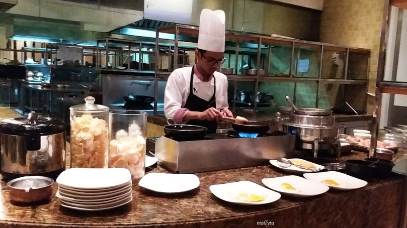 Sahur di Marriott Cafe