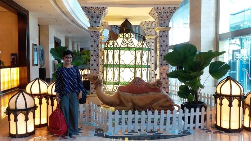 Staycation saat Ramadandi JW Marriott Hotel Medan