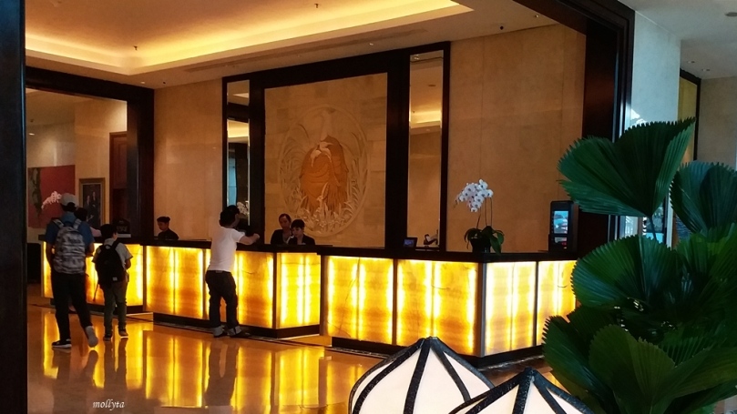 Front Desk JW Marriott Hotel Medan